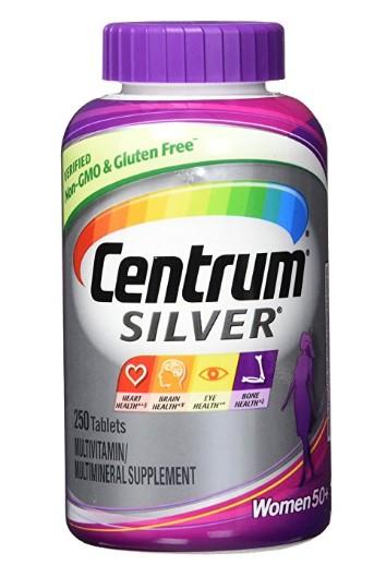 Centrum® Silver® Women 50+, 250 tablets