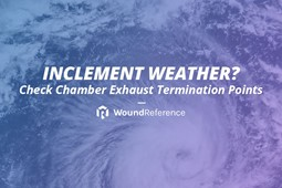 Inclement weather?   Check the Chamber Exhaust Termination Points