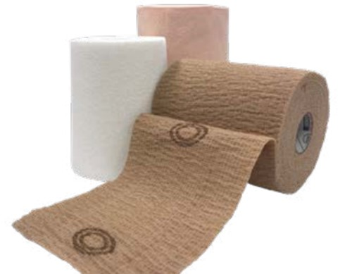 CoFlex TLC Zinc Standard Compression, Layer 1: 4'' x 6 yds., Layer 2: 4'' x 7 yds (*), 2/Bx