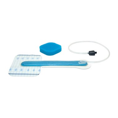 SNAP™ Bridge Dressing Kit (Foam) with SecurRing™ Hydrocolloid, 14cm x 11cm
