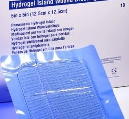 CURAGEL™* Hydrogel Wound Dressings 8-1/2