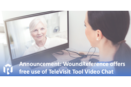 WoundReference Offers Free Use of TeleVisit Tool Video Chat