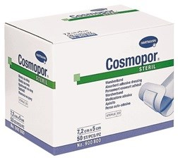 Cosmopor, Sterile, Latex-Free Adhesive Wound Dressings: 2.8