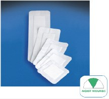 """Covaderm®: overall 4"""" x 8"""", pad 2"""" x 5½"""", 25/box"""