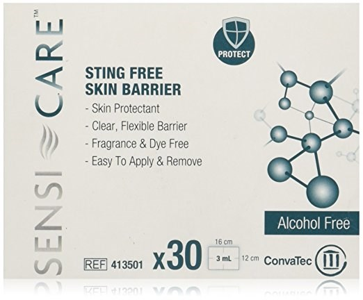 Sensi-Care® Sting Free Skin Barrier, 25 x 3ml wands, 4/box