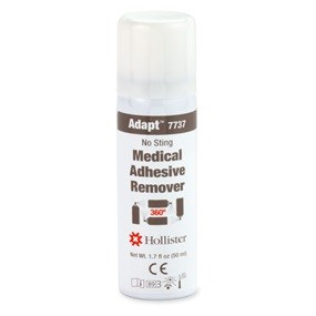 Adapt Medical Adhesive Remover Spray, 1.7 oz (50 mL) 360 degree spray can, 1/box
