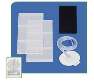 DeRoyal NPWT Dome Kits Black Medium Foam Kit w/SD/TR