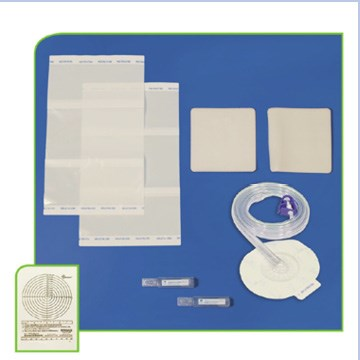 DeRoyal NPWT Dome  Large White Foam Kit w/SD