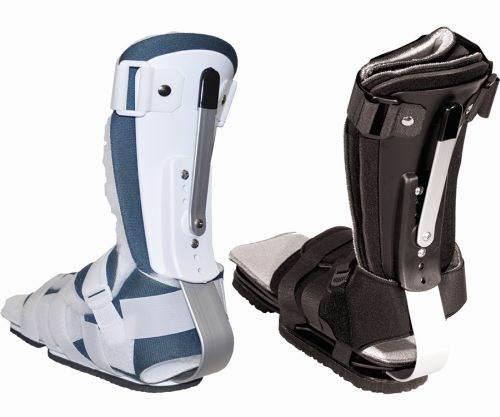 RAPO Articulating Ankle Foot Orthosis Infant Kodel Gun Metal