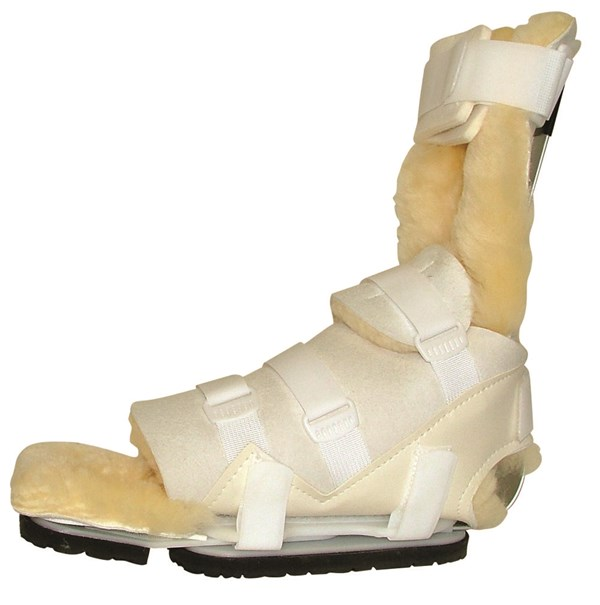 PRAFO Orthosis Adult Standard Fleece Yellow/Sheepskin Liner