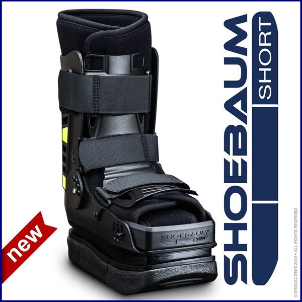 Shoebaum® Short Walker with Lateral Shock Reduction Technology (One-Size 7 to 11)