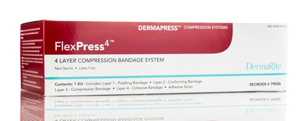 FlexPress4, Four Layer Compression Bandage System (*)