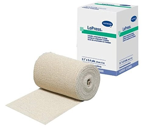 LoPress®, Double Length, Latex-Free Inelastic Compression Bandages, 3.9
