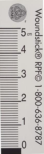 "WoundStick ™ Ruler©, 5 cm (2.5"" x ¾ "")"