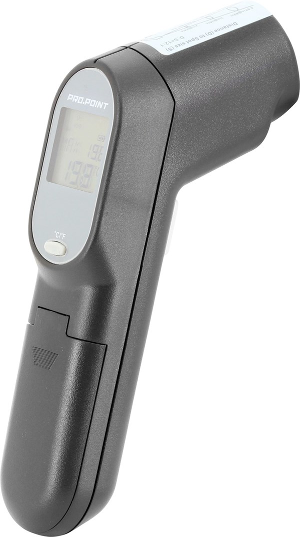 Pro Point Infrared Thermometer, 9.5 x 4.6 x 2.3 in.