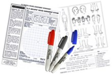 E-Z Graph Pack Of 250 Assessment Worksheets
