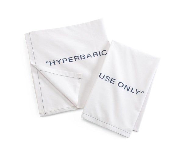Medline Hyperbaric Pillowcase, 100% Cotton,12/DZ