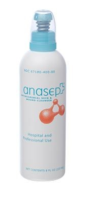 Anasept® Antimicrobial Skin & Wound Cleanser, (Sprayer), 8 oz