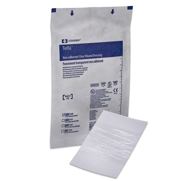 Telfa™ Clear Wound Dressing, 4