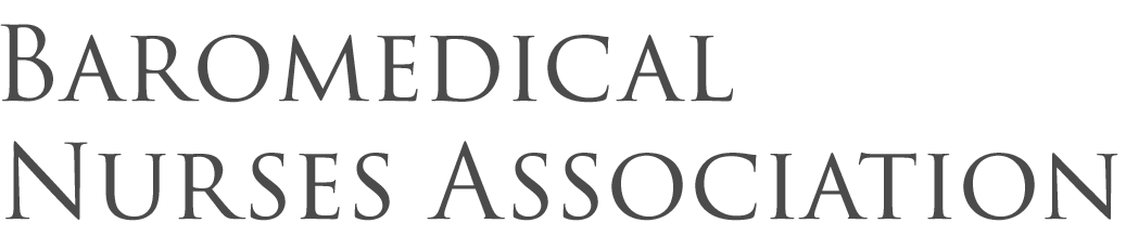 Baromedical Nurses Association Partnership